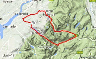 Pen y Pass Loop Cycle Route