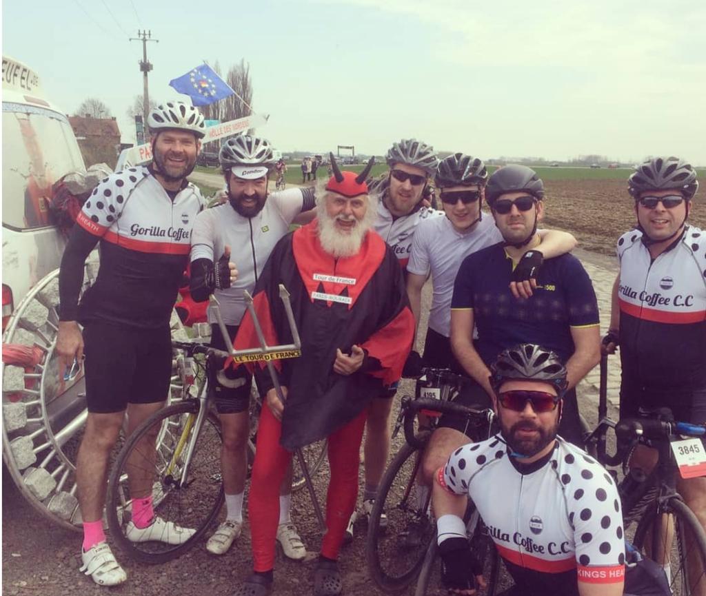Paris Roubaix Sportive 2018 Didi the Devil