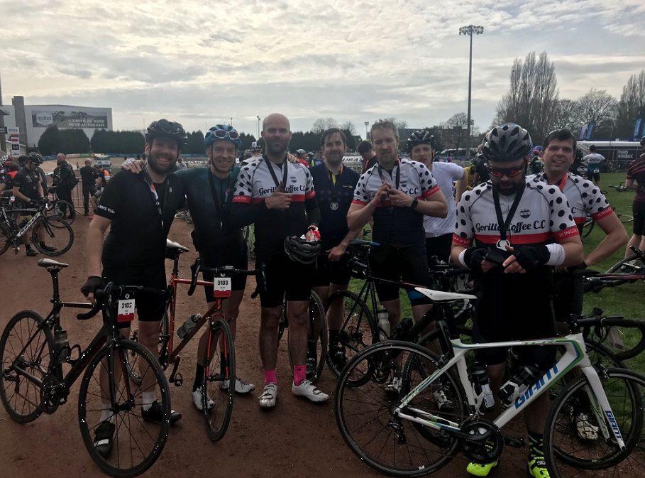 Paris Roubaix Sportive 2018 End