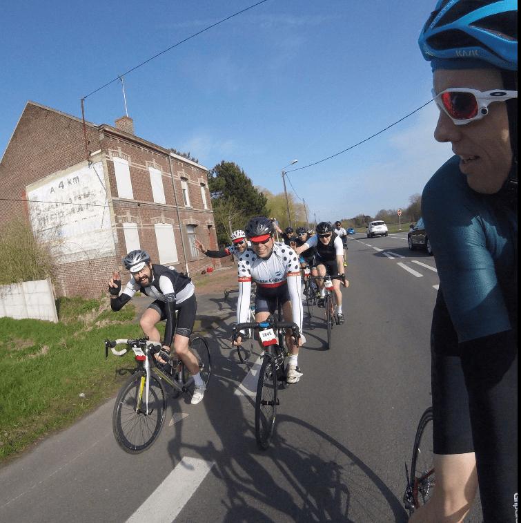 Paris Roubaix Sportive 2018 New Friends