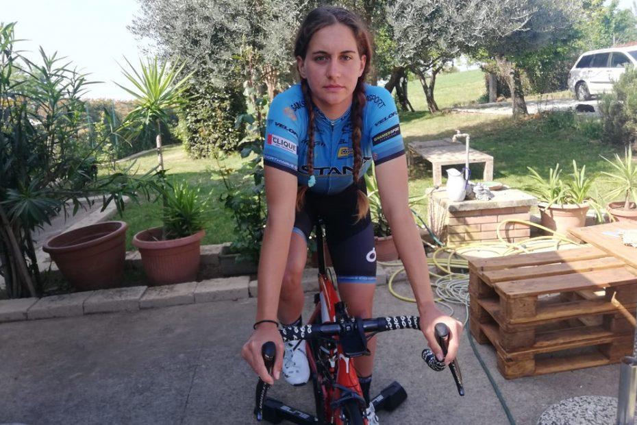 Astana team for the Giro Rosa
