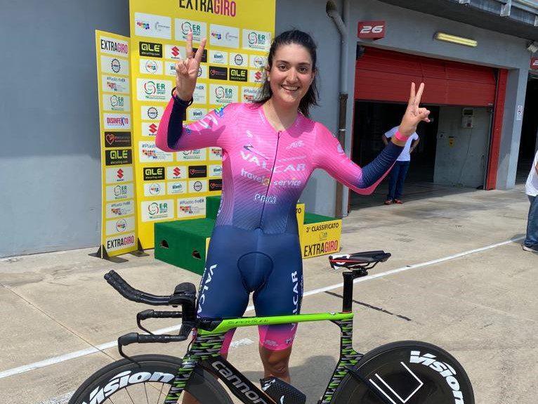 Ancora podio! Matilde Bertolini è seconda alla cronometro all'autodromo di Imola