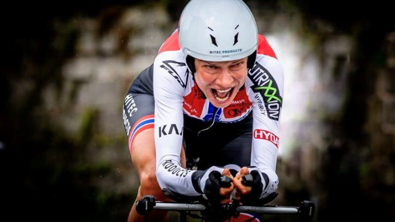 Silver for Vita Heine at Norwegian time trial championships