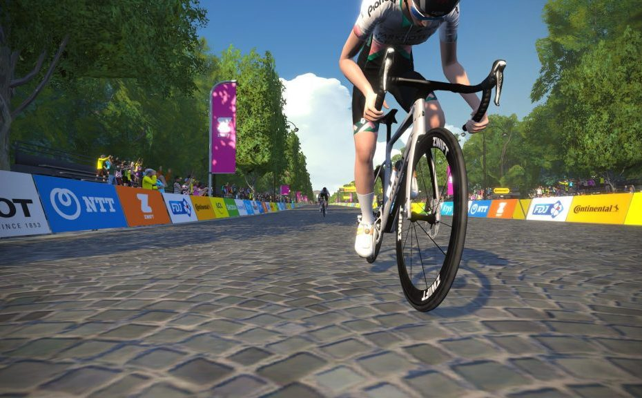 The first virtual Tour de France