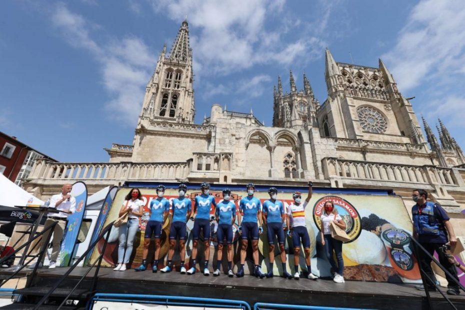 Vuelve el ciclismo; permanece Valverde (3º)