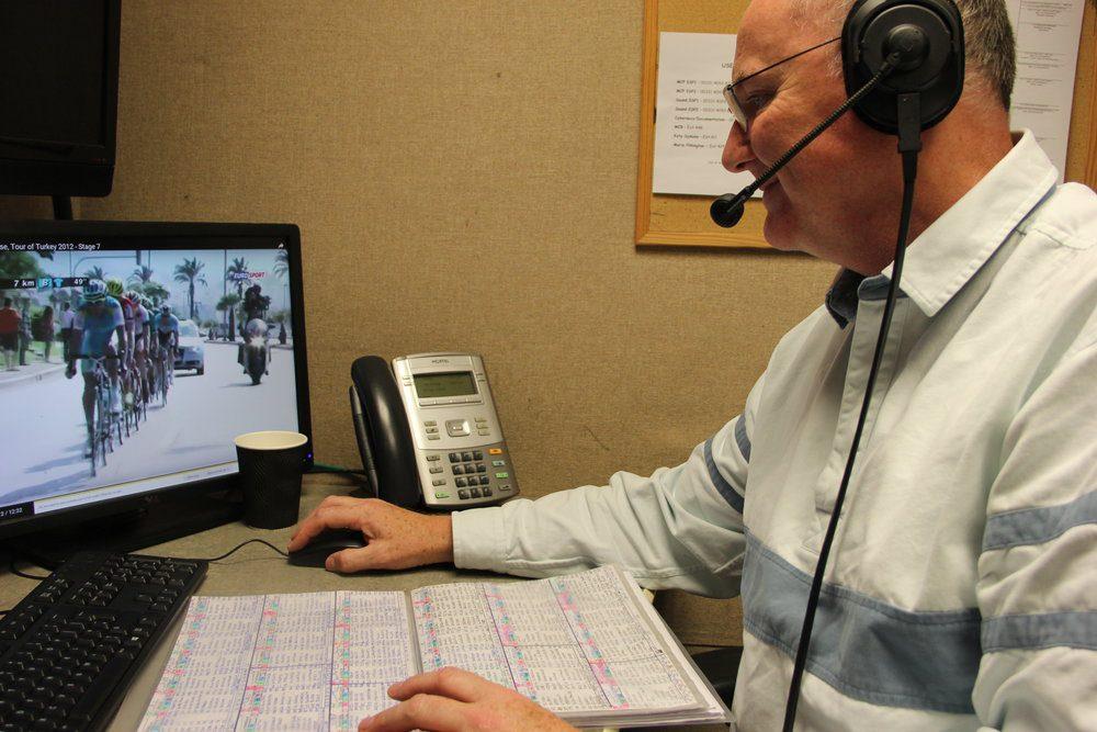 Carlton Kirby Eurosport Commentator