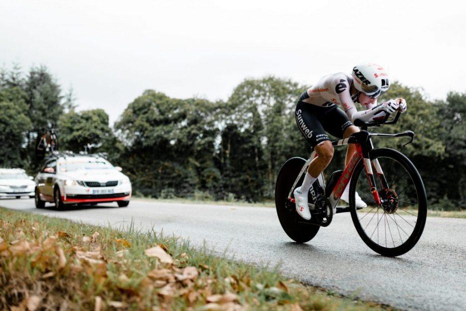 Juliette Labous storms to elite French TT title