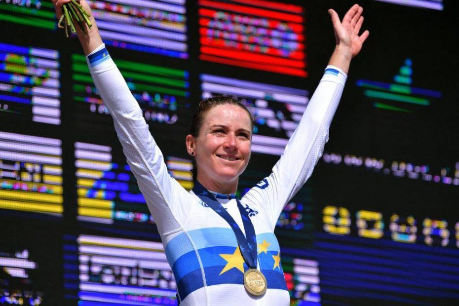 Van Vleuten claims European title with victory in Plouay