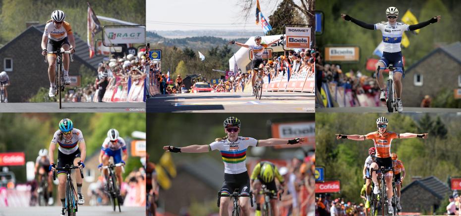Anna van der Breggen wins Fleche Wallonne for sixth time in a row