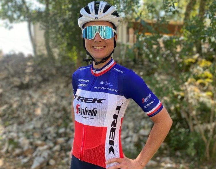 Audrey Cordon-Ragot debuts new National Champion jersey with a podium finish