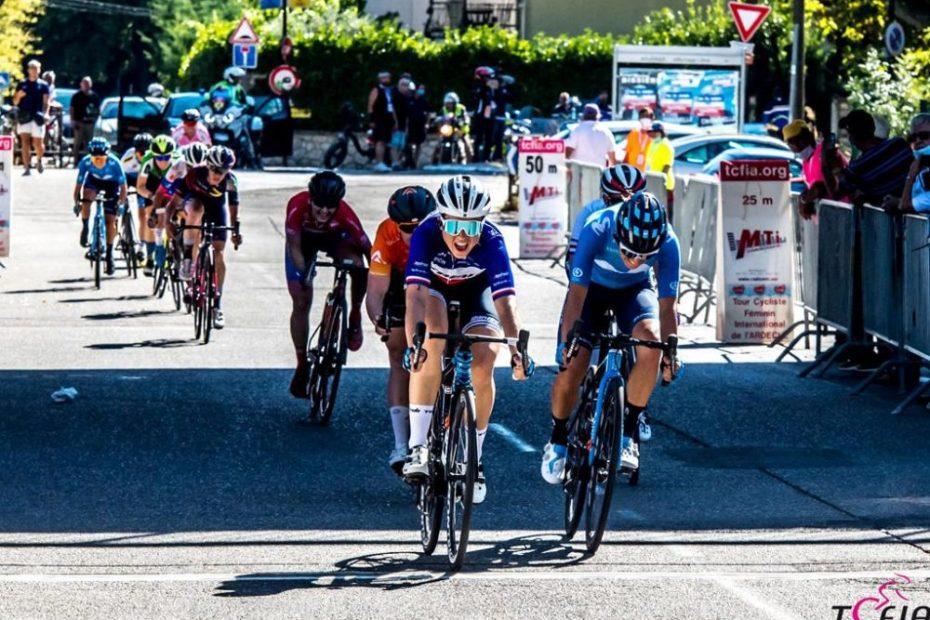 Audrey Cordon-Ragot wins Stage 3 in l'Ardèche