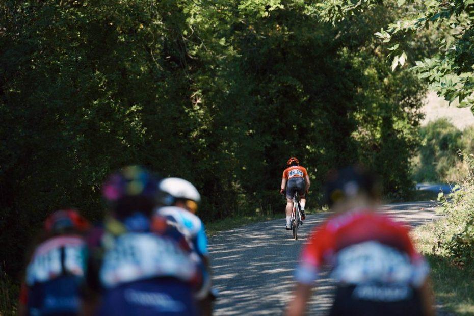 Franz soars to Tour de l'Ardéche podium