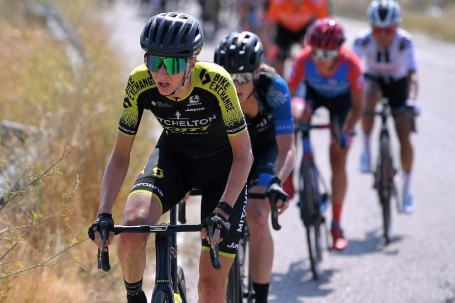Kennedy goes down fighting on the final stage of the Giro Rosa