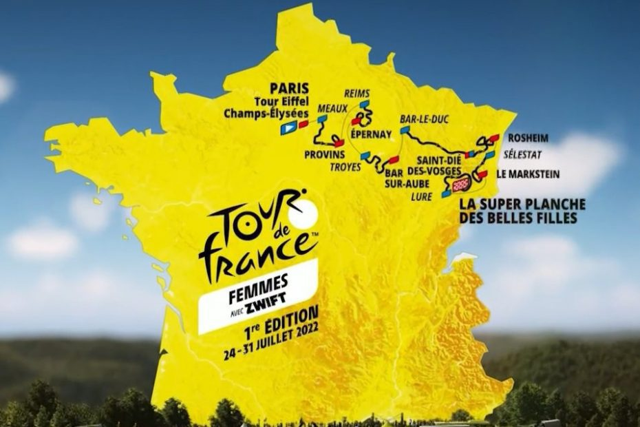 Tour de France Femmes 2022 Route Unveiled!